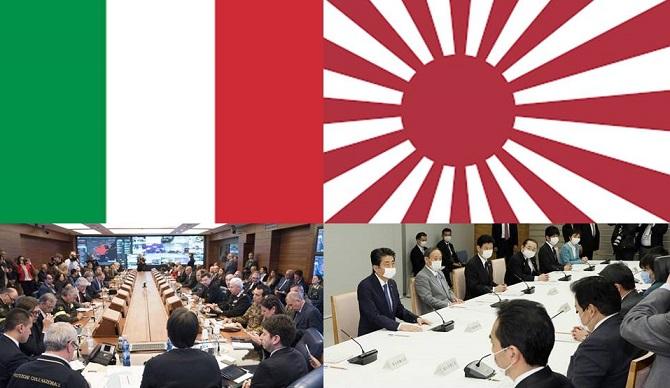 COVID-19 ITALY Vs. JAPAN